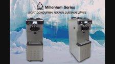 BNG-tech Millenium serisi soft dondurma&frozen yoğurt makinesi