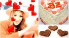 Sevgililer Günü Makyaji & 5 dakika da özel PASTA yapımı