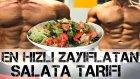 EN HIZLI ZAYIFLATAN SALATA TARIFI / Zayıflamak / Kilo Vermek - Sağlıklı beslenme Shredded Brothers