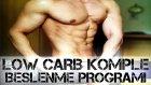 LOW CARB BESLENME PROGRAMI / Komple Örnek Diyet Definasyon Program Yağ yakmak Shredded Brothers
