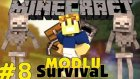 Minecraft Modlu Survival - Ev Ve Mahsenler - Bölüm 8