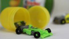 Sürpriz Yumurta Açma - Formula 1 Otomobili