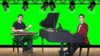 Çeçen Kızı Piyano Kanun Düeti Beste: Tanburi Cemil Bey makam: Hüseyni Saz Eseri Semaisi