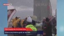 İstanbul'da zincirleme kazalar, TEM Otoyolu kapandı: 1 ölü