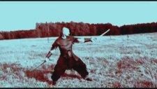 Türklerin kılıç dövüş sanatı AMAROK - gösteren usta Hakan Haslaman