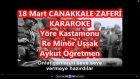 18 Mart Çanakkale Zaferi Türküsü Re Minör Uşşak Karaoke Md Altyapısı Türkü Sözü