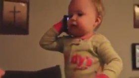 Bebek Dili İle Telefon Görüşmesi