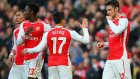 Arsenal'den müthiş takım golü! 11 futbolcu da topa dokundu.