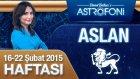 ASLAN burcu haftalık yorumu 16-22 Şubat 2015
