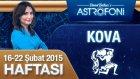 KOVA burcu haftalık yorumu 16-22 Şubat 2015
