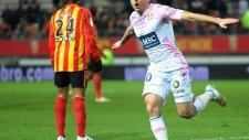 Lens 0-2 Evian TG - Maç Özeti (14.2.2015)
