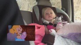 Çizgi Film İzlerken Ağlayan Bebek