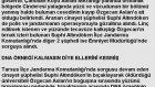 Özgecan Arslan katilinin açıklaması !!!!