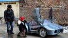 Torunu için 6 ayda Lamborghini yaptı