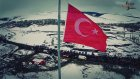 Türk Bayrağının Farklı İllerden Drone ile Çekilmiş Görüntüleri