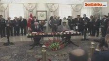 Davutoğlu ile Pakistanlı Mevkidaşı Navaz Şerif İkili Antlaşma İmzaladı