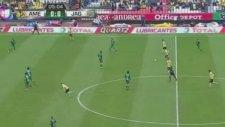 Meksika'yı sallayan gol! Orta sahadan...