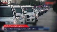 IŞİD lüks araçlarıyla gövde gösterisi yaptı