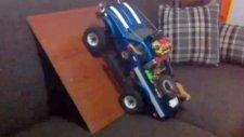 Scale Crawler Axial scx 10 tırmanma