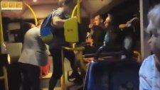 Otobüste Polonyalı Ukraynalı Kavgası (Sürpriz Sonlu)
