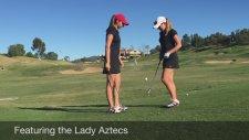 Kadın Golfçülerden Harika Şov!