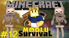 Minecraft Modlu Survival - Ev Çevresi - Bölüm 12