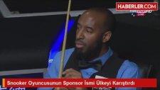 Snooker Oyuncusunun Sponsor İsmi Ülkeyi Karıştırdı