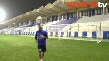 Samaras golünü minik hayranına hediye etti!...