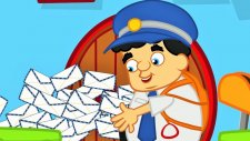 Bak Postacı Geliyor - Çizgi Film Çocuk Şarkısı - Adisebaba Çocuk Şarkıları Videoları