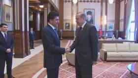 IKBY Başbakanı Barzani'yi Kabul Etti