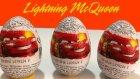 Şimşek McQueen Sürpriz Yumurta ve Oyuncak Araba Açımı Oyun Hamuru TV Videoları