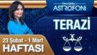 TERAZİ burcu haftalık yorumu 23 Şubat 2015-01 Mart 2015