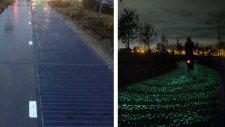 Dünyanın ilk güneş enerjisi üreten bisiklet yolu: Solaroad