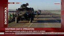 Süleyman Şah Türbesine Operasyon