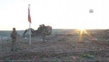 Süleyman Şah'ın Naaşının Nakledileceği Bölgeye Türk Bayrağı Çekildi