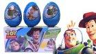 Toy Story Sürpriz Yumurtalar Oyuncak Açımı Oyun Hamuru TV Videoları Oyuncak Hikayesi Karakterleri