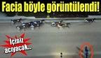 At Yarışında Şok Kaza!