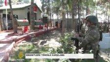 Süleyman Şah Türbesi'nden Getirilen Emanetlere Törenle Karşılama