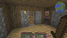 Burak Oyunda Minecraft Modlu Survival - Lanetli Başlangıç - Bölüm 1