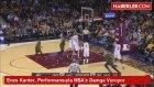 Enes Kanter, Performansıyla NBA'e Damga Vuruyor