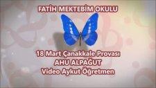 18 Mart Çanakkale Zaferi Provası Fatih Mektebim Okulu Ahu Alpağut