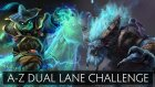 Dota 2 A-Z Dual Lane Challenge - Spirit Breaker and Storm Spirit