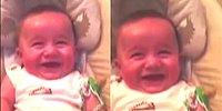 Gülerken Sevimlilik Patlaması Yaşayan Bebek