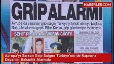 Avrupa'yı Sarsan Grip Salgını Türkiye'nin de Kapısına Dayandı, Bakanlık Alarmda