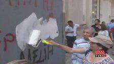 Taksim'deki Gezi Protestolarına Feminist Rötuş