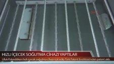 Hızlı İçecek Soğutma Cihazı İcat Eden Türkler