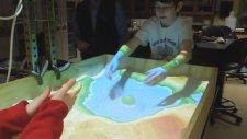Gerçek Zamanlı Topografik Harita Simülasyonu