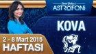 KOVA burcu haftalık yorumu 2-8 Mart 2015