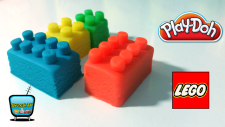 Play Doh Oyun Hamuru ile Lego Yapımı