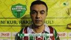 Mert Spor Maç Sonu Basın Toplantısı / İZMİR / iddaa Rakipbul 2015 Açılış Ligi